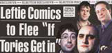 Viz, leftie comics flee UK, PM soapbox